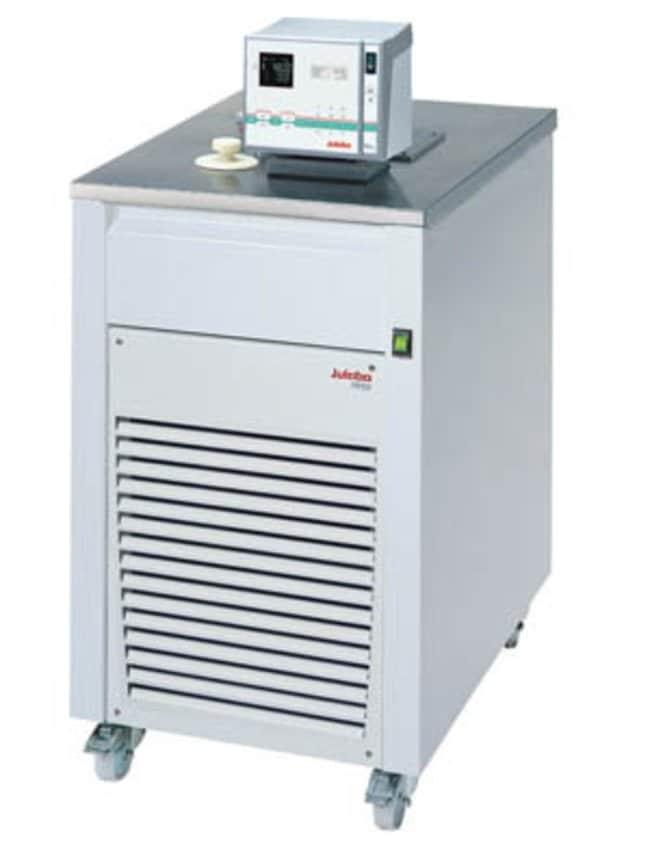 JULABO™Ultra-Low Refrigerated-Heating Circulator with Top Panel, FP-SL Series Capacity: 24L; Range: -60 to 100°C; Cooling: 3kW at 20°C, 2.8kW at 0°C, 1.6kW at -20°C, 0.65kW at -40°C, 0.1kW at -60°C; Top Panel JULABO™Ultra-Low Refrigerated-Heating Circulator with Top Panel, FP-SL Series