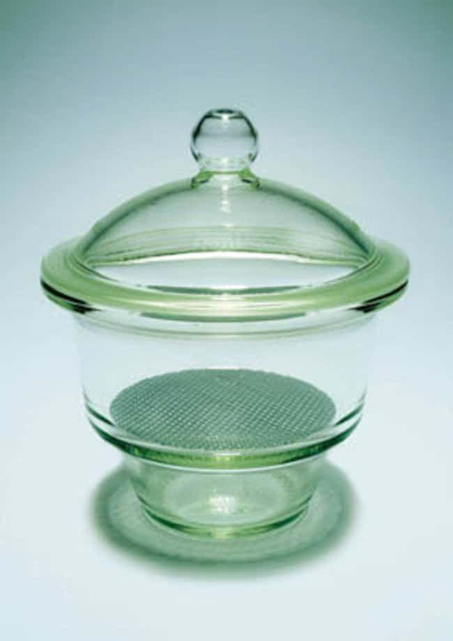 Pyrex™ Borosilicate Glass Non-vacuum Desiccator Cover Inner Flange Diameter: 170mm; For use with: Non-vacuum desiccator Products