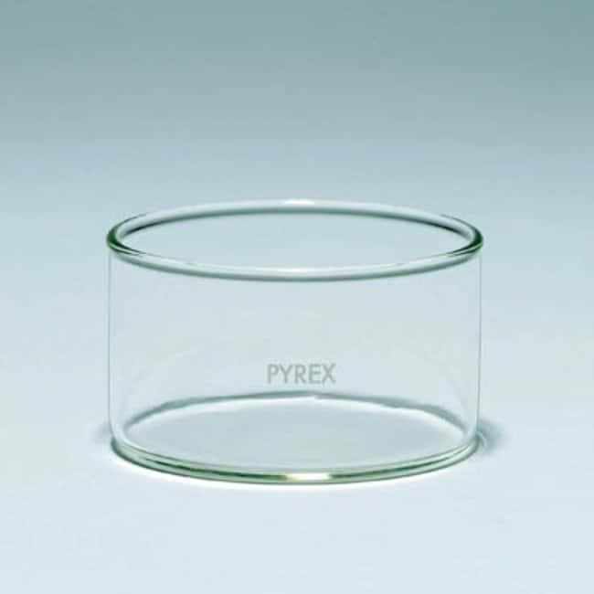Pyrex™ Borosilicate Glass Crystallizing Dishes Capacity: 100mL Pyrex™ Borosilicate Glass Crystallizing Dishes