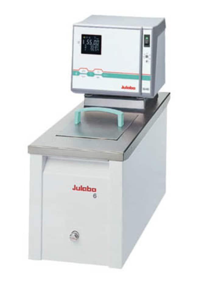 Julabo™HighTech Heating Circulators Range: 20 to 300deg.C; Capacity: 6L; Integrated Programmer: 1 x 10 Steps Julabo™HighTech Heating Circulators