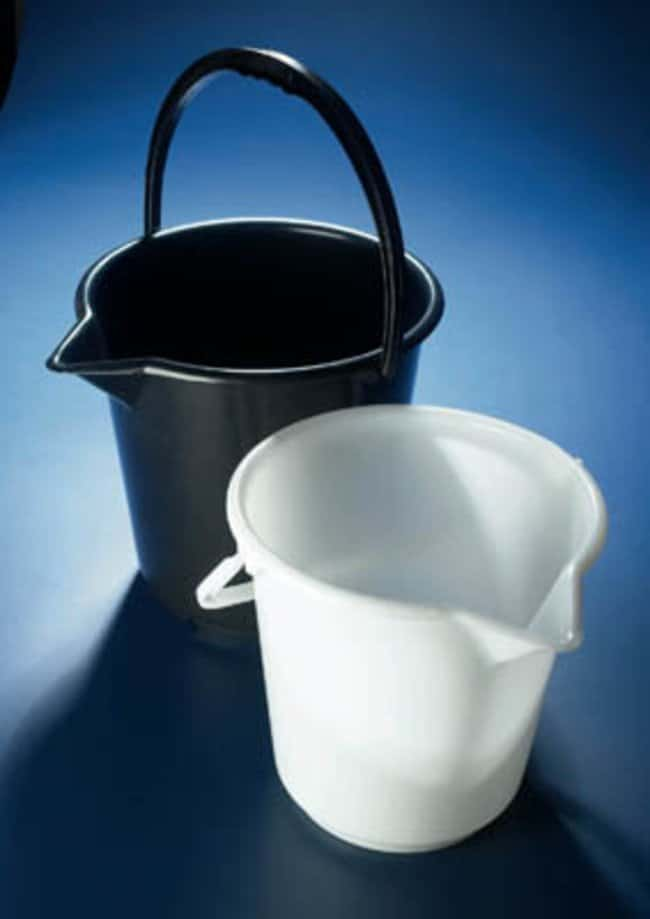 Azlon™ Spouted HDPE Bucket Spouted; White; 17L Azlon™ Spouted HDPE Bucket