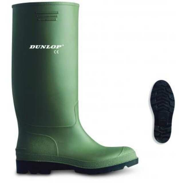 Euro Protection™Dunlop™ Selenium Boots Color: Green/Black/White; Size: 40 Euro Protection™Dunlop™ Selenium Boots