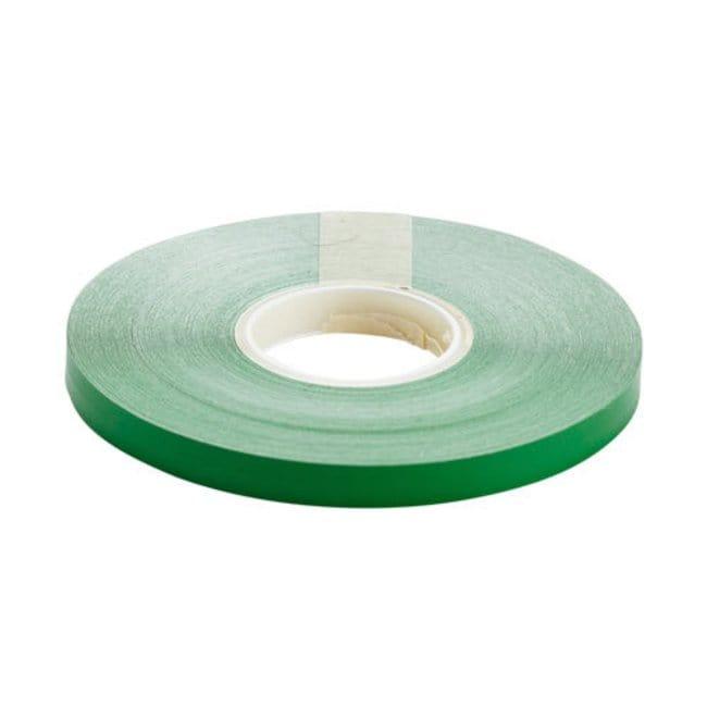 Brady Marking Tape Roll: Adhesive Vinyl, Solid Color, Green Adhesive Vinyl,
