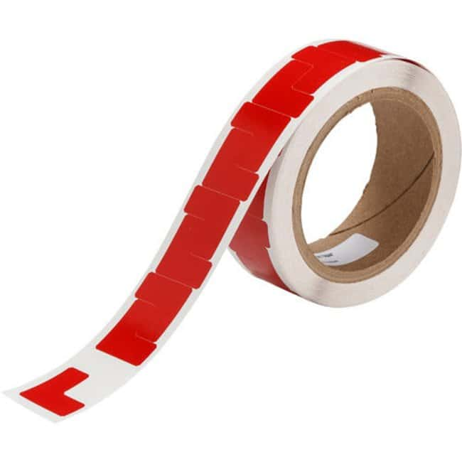 Brady Marking Tape L-Shaped Corner Marks - Adhesive Vinyl, Solid Color,