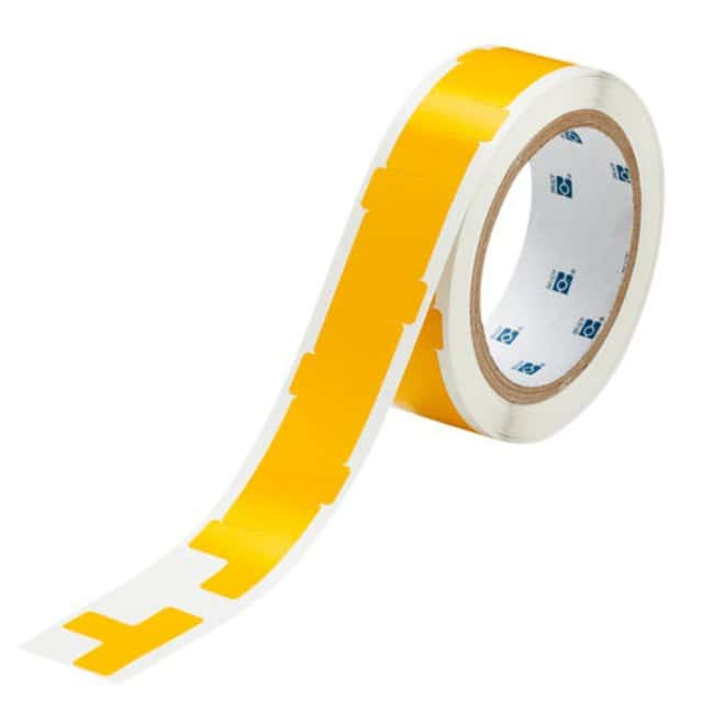 Brady Marking Tape T-Shaped Divider Marks: Adhesive Vinyl, Solid Color,
