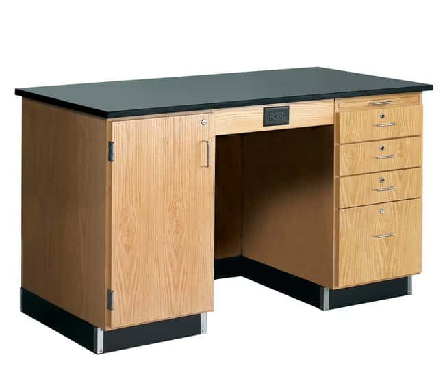 Diversified Woodcrafts™Instructor Desk without Sink