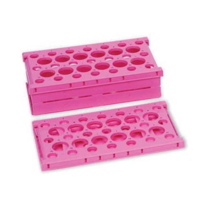 Fisherbrand™Pop-up-Röhrchengestelle aus Polypropylen Farbe: Pink Fisherbrand™Pop-up-Röhrchengestelle aus Polypropylen