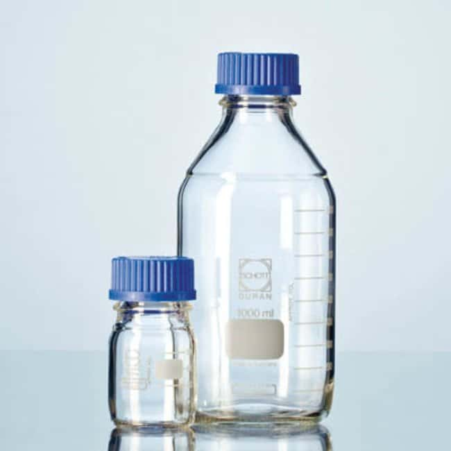 Duran™ Clear Glass Laboratory Bottle with Screw Cap: Bottles Bottles, Jars and Jugs