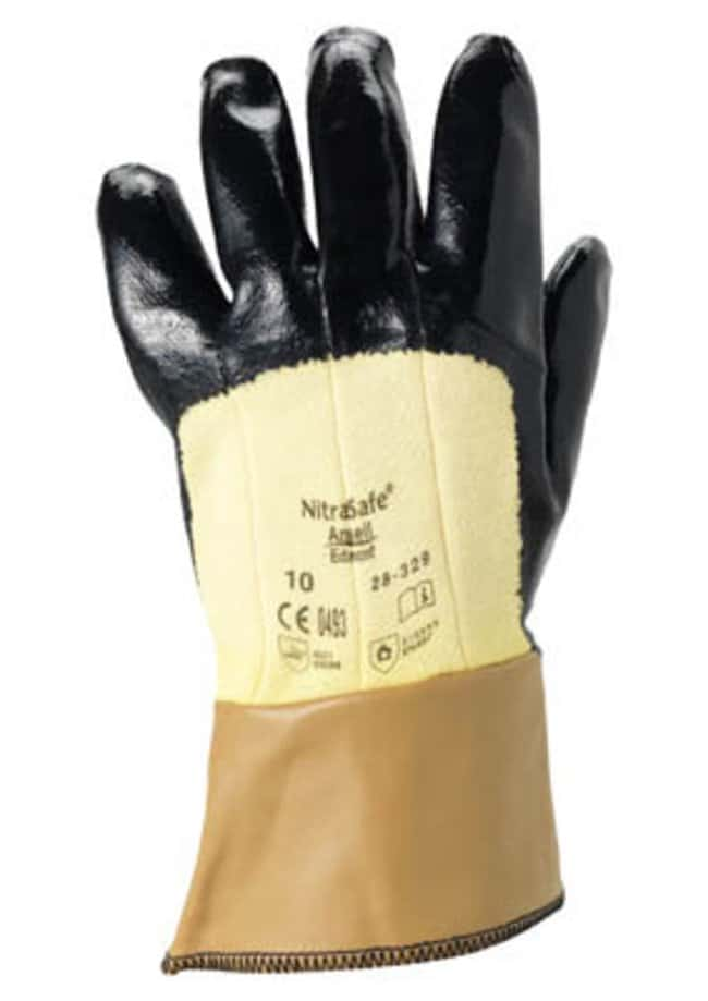 Ansell™ NitraSafe™ 28-329 Series Nitrile Heavy Weight Gloves Size: 10 Products
