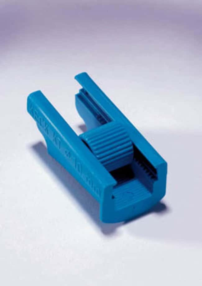 Quickfit™ Thermoplastic Polyester Tubing Clamps For up to 14mm O.D. tubing Quickfit™ Thermoplastic Polyester Tubing Clamps