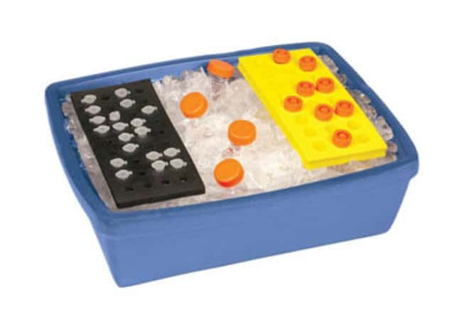 Bel-Art™ Scienceware™Blue Insulated Lab Ice Pan Capacity: 9L Insulated Containers
