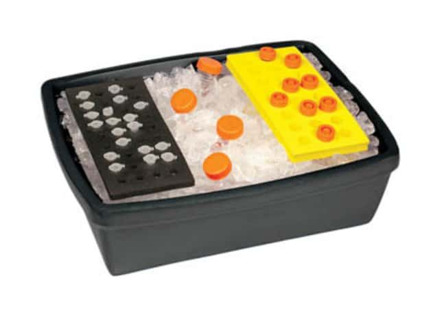 Bel-Art™ Scienceware™Black Insulated Lab Ice Pans: Cold Storage Products Products