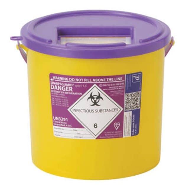 Sharpsguard Cyto 11 5 Multi Purpose 9 27l Waste Container