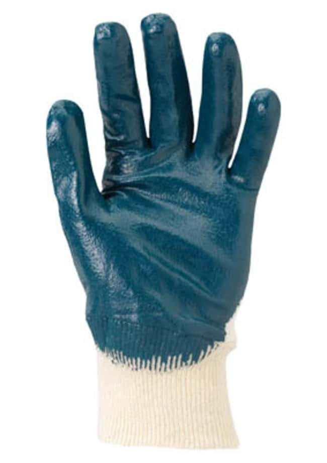 Ansell™ HyFlex™ 47-400 Series Blue Nitrile Medium Weight Gloves Palm coated; Knitwrist; Size: 10 products