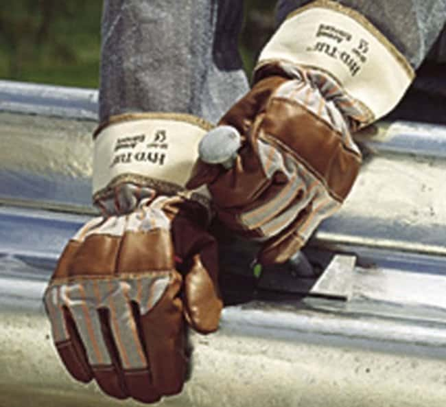 Ansell Edmont™Hyd-Tuf™ 52-502 Series Brown Nitrile Medium Weight Gloves Size: 10 Products