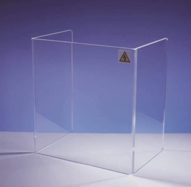 Fisherbrand™3-Sided Beta Radiation Shields Depth: 30cm Pantallas antirradiación
