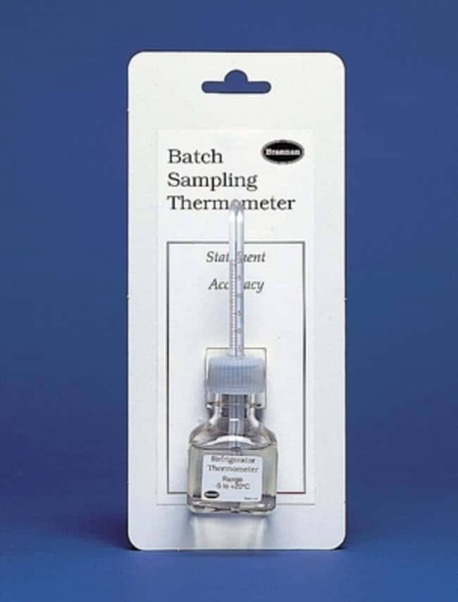 Brannan™Oven Batch Sampling Thermometer Temperature Range: 20 to 130°C Special Purpose Thermometers