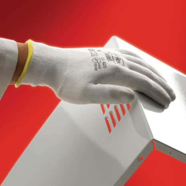 Ansell Edmont™HyFlex™ 11-625 Series White Polyurethane Medium Weight Gloves Size: 6 Ansell Edmont™HyFlex™ 11-625 Series White Polyurethane Medium Weight Gloves