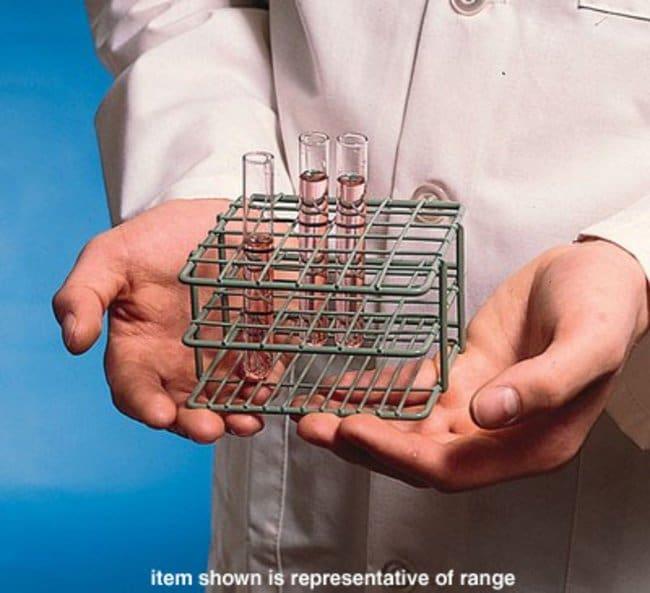 Bel-Art™SP Scienceware™ Poxygrid™ Reagenzglasgestelle halber Größe Abmessungen (LxBxH): 12.5x10.8x6.4cm Bel-Art™SP Scienceware™ Poxygrid™ Reagenzglasgestelle halber Größe