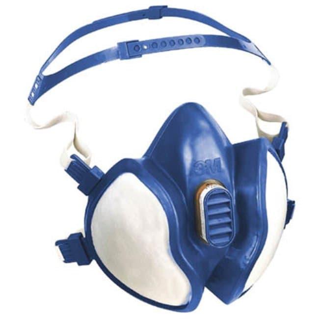 3M™Disposable Maintenance-Free Half Mask Respirator, 4000 Series: Air Purifying Respirators Respiratory Protection
