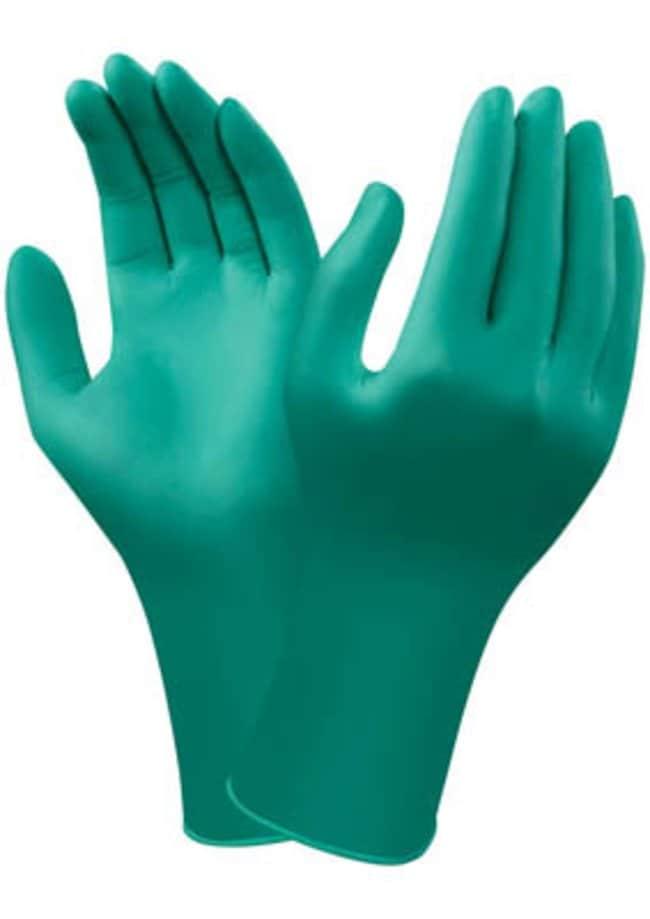 Ansell Edmont™Guantes de nitrilo verde desechables TouchNTuff™ Size: 9 Ansell Edmont™Guantes de nitrilo verde desechables TouchNTuff™