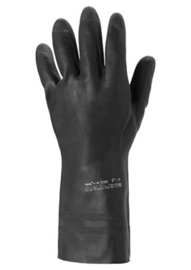 Ansell Edmont™Guantes resistentes a sustancias químicas de tamaño Extra de látex de caucho natural Tamaño: 8 Ansell Edmont™Guantes resistentes a sustancias químicas de tamaño Extra de látex de caucho natural