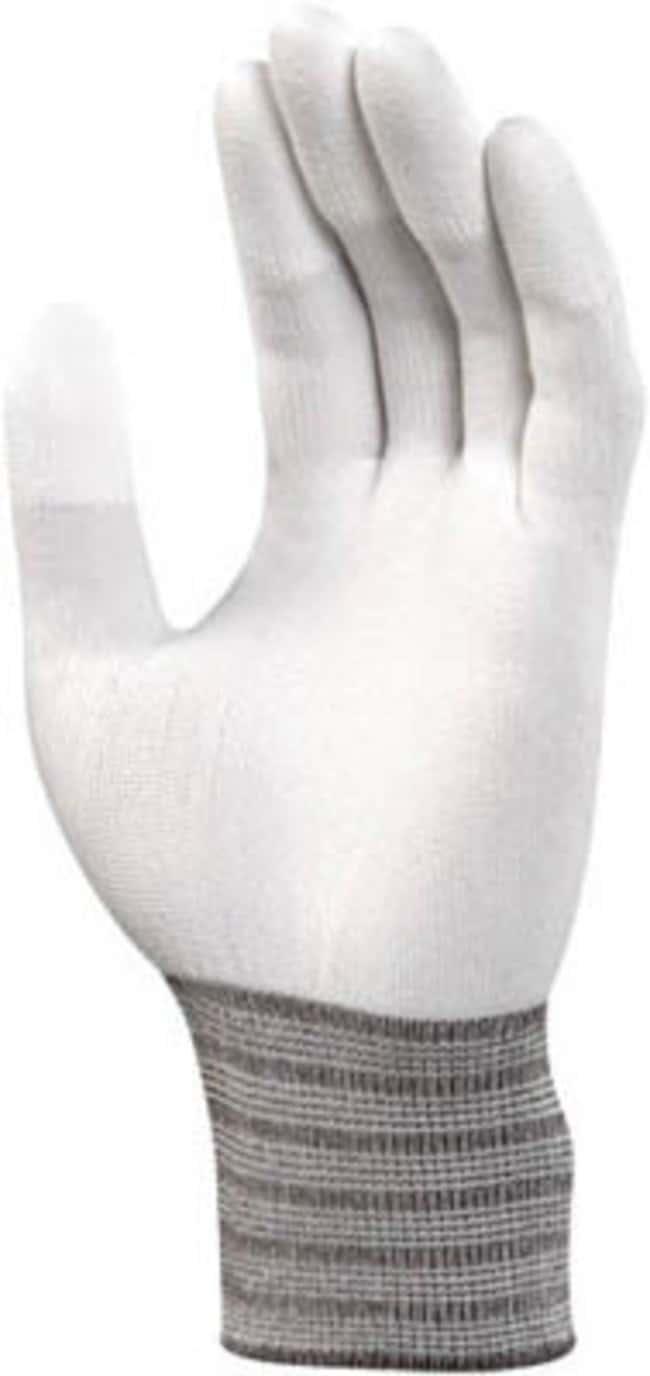 Ansell™Guantes de peso ligero de poliuretano blanco HyFlex™: Guantes resistentes a químicos, temperatura y corte Seguridad, guantes, gafas y limpieza