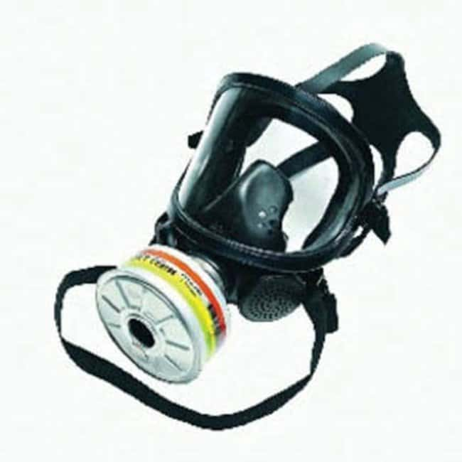 Sperian Protection™Honeywell™ Silicone Full Face Mask Lens Type: PMMA Lens Air Purifying Respirators Full Face