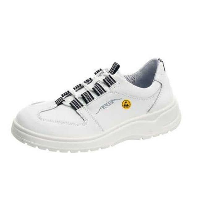 ABEBA™Black Microfiber ESD Anatom Safety Shoes Size: 44 ABEBA™Black Microfiber ESD Anatom Safety Shoes