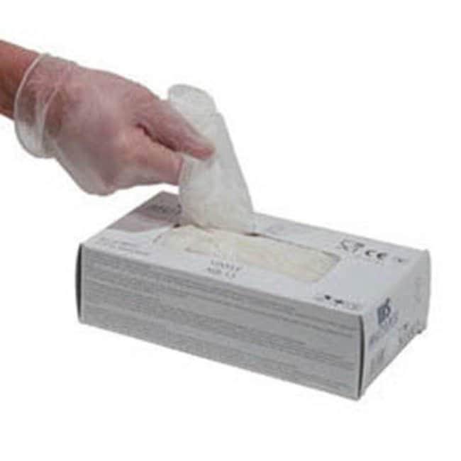 Honeywell Safety Products™DexPure Vinyl Gloves: Guantes industriales desechables Guantes resistentes a químicos, temperatura y corte