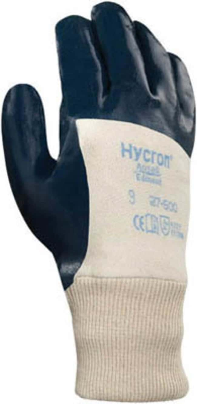 Ansell Hycron 27-600 Series Nitrile-Coated Gloves:Gloves, Glasses and Safety:Gloves