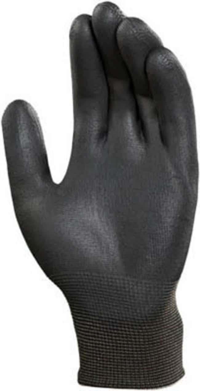 Ansell Sensilite 48-101 Series Black Polyurethane Light Weight Gloves::