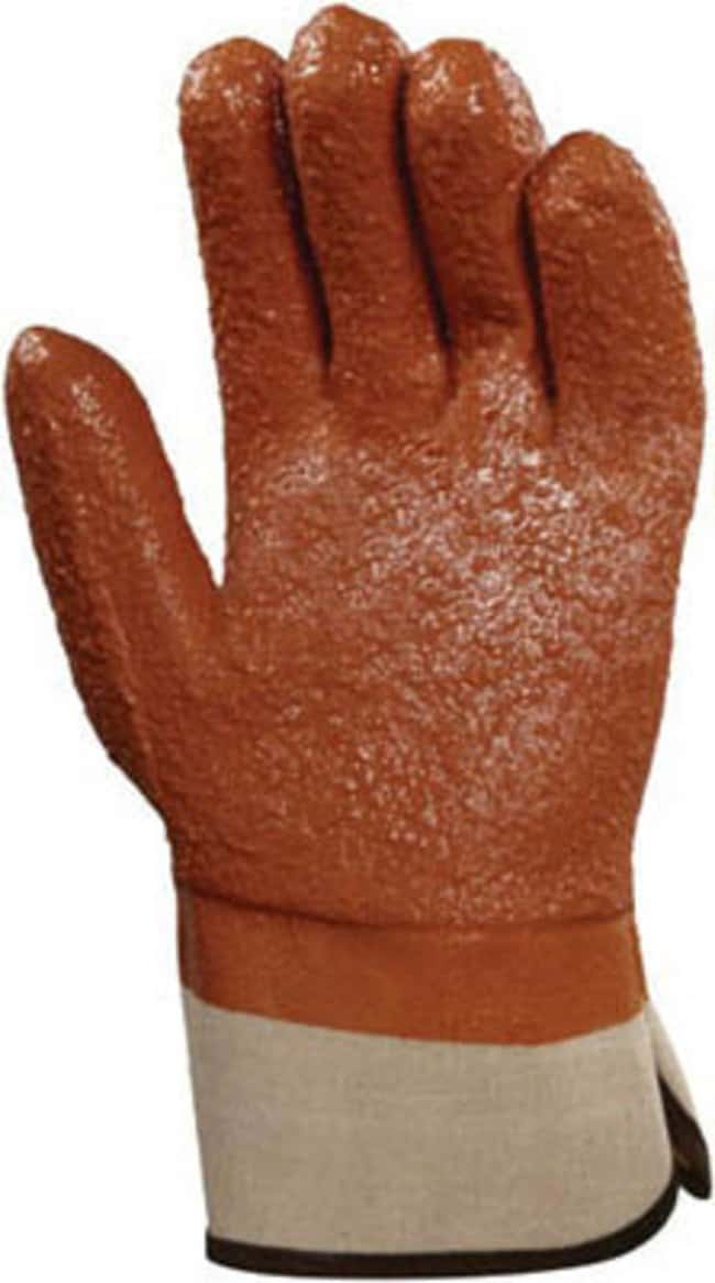 Ansell™ Winter Monkey Grip™ 23-173 Series PVC Heavy Duty Gloves Raised Finish; Safety Cuff; Orange Vinyl Coating Products