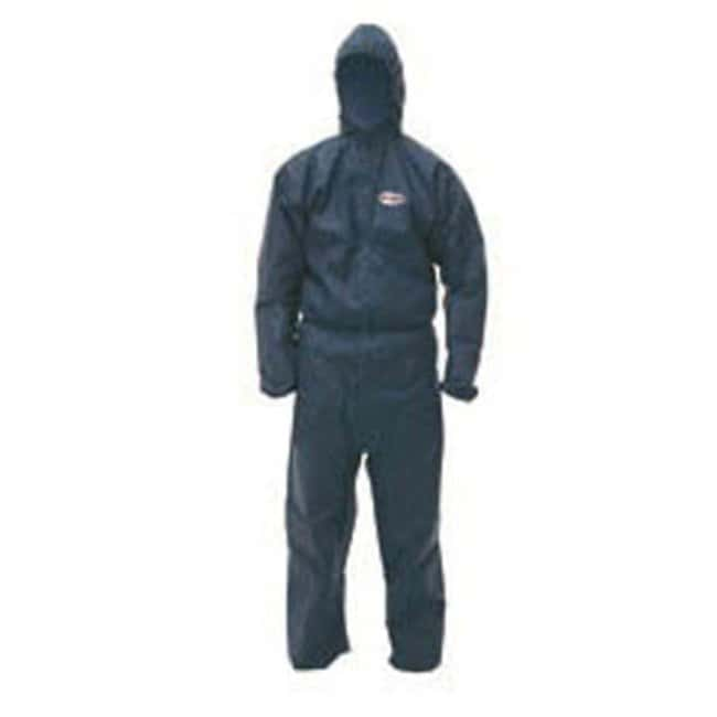 Kimberly-Clark™ KLEENGUARD™ A50 Breathable Splash and Particle Protection Hooded Coveralls, Blue Size: Large Kimberly-Clark™ KLEENGUARD™ A50 Breathable Splash and Particle Protection Hooded Coveralls, Blue