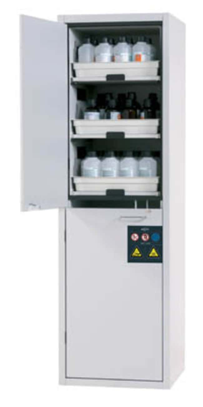 asecos™ Cabinet for Acids and Alkalis SL-CLASSIC 570 x 485 x 914mm, No of shelves: 6 asecos™ Cabinet for Acids and Alkalis SL-CLASSIC