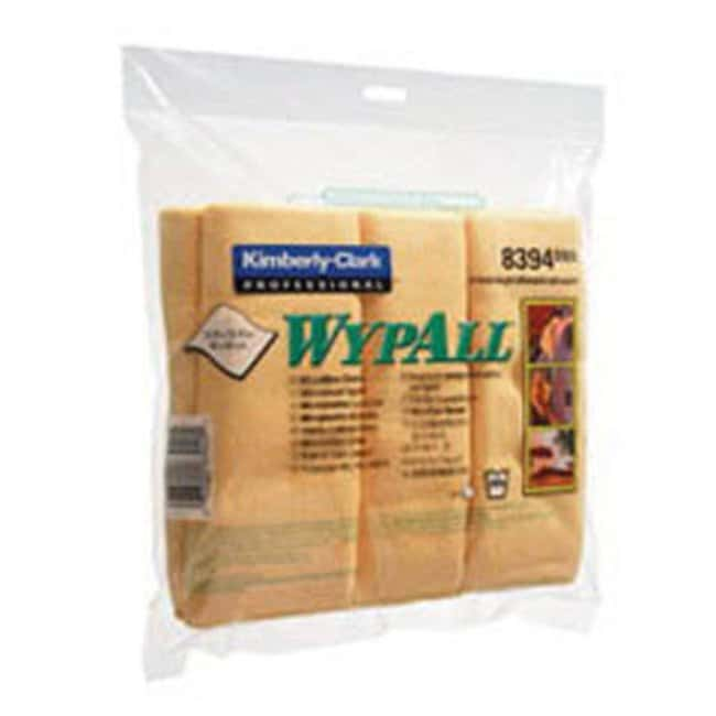 Kimberly-Clark™ WYPALL™ Microfiber Cloths Color: Yellow ...