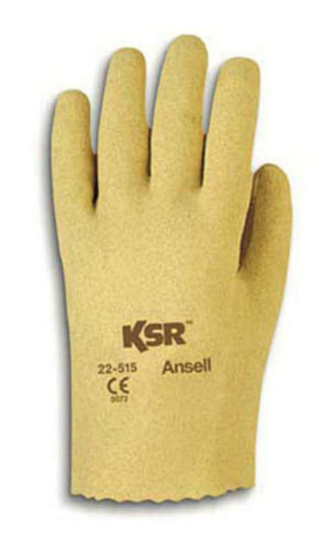 Ansell KSR 22-515 Series Vinyl-Coated Light Weight Gloves Size: Large:Gloves,