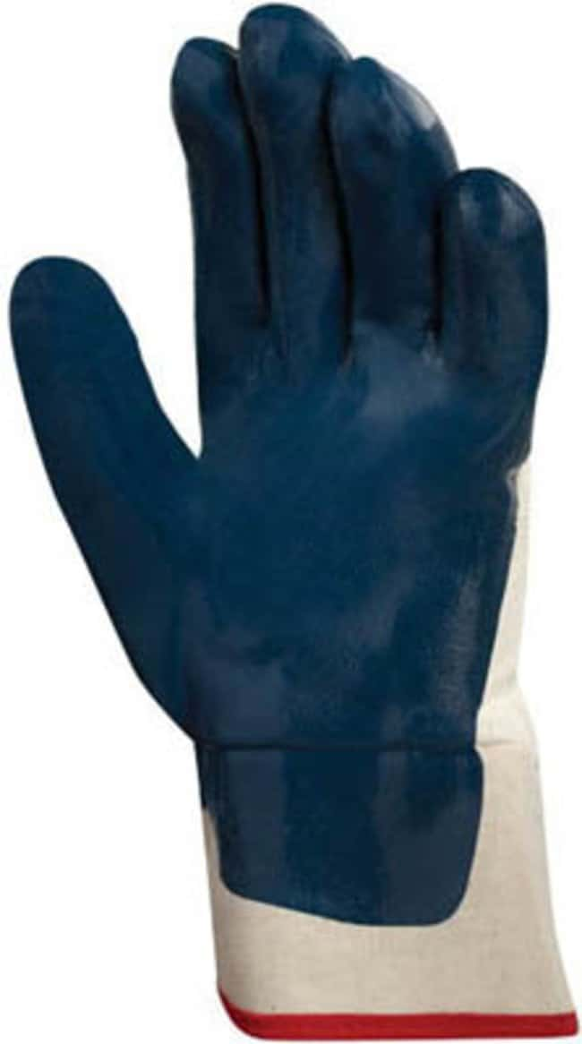 Ansell Hycron 27-607 Series Blue Nitrile Heavy Weight Gloves:Gloves, Glasses