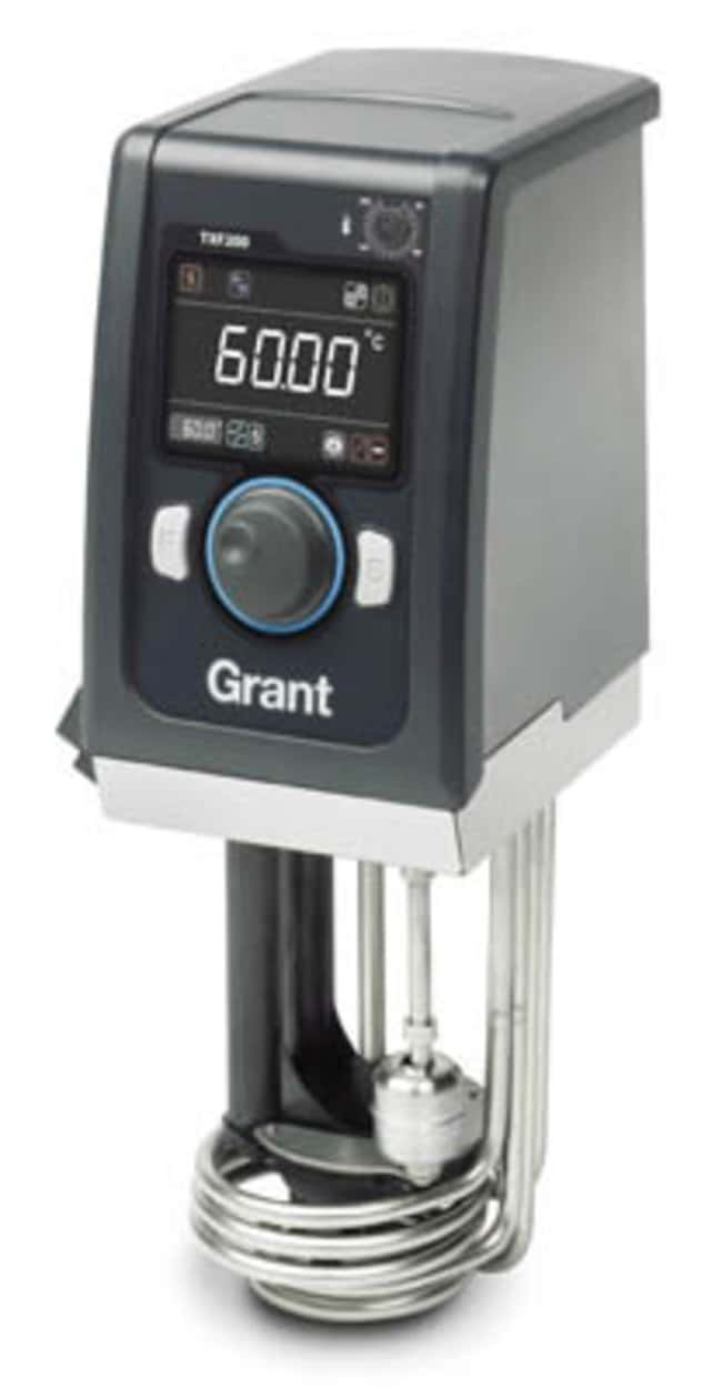 Grant Instruments™ TXF200 R Series Refrigerated Circluating Bath Capacity: 20L; Temperature Range: -30 to 100°C Grant Instruments™ TXF200 R Series Refrigerated Circluating Bath