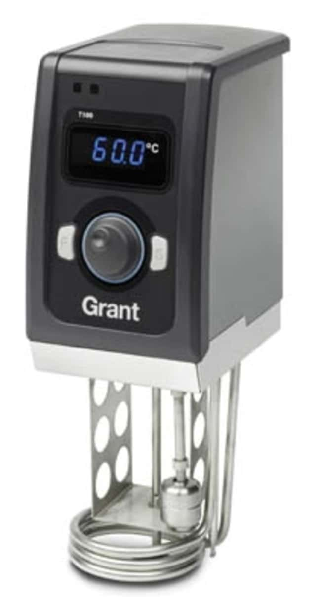 Grant Instruments™ T100 Series Digital Heated Circulating Bath, Stainless Steel Tank Capacity: 5L Grant Instruments™ T100 Series Digital Heated Circulating Bath, Stainless Steel Tank