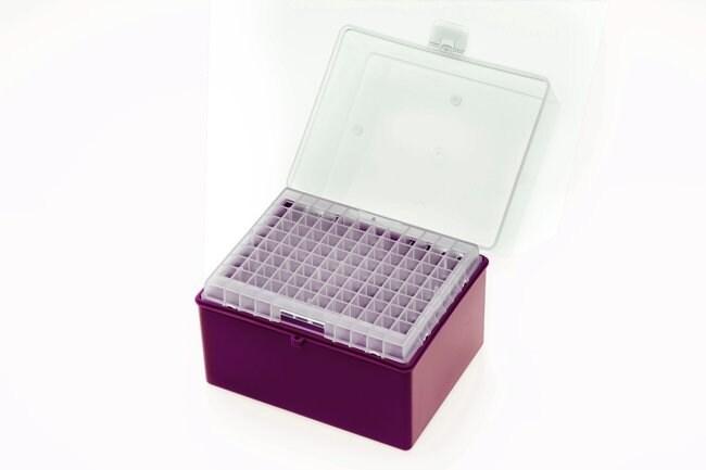 LabconRefillable Racks for Eclipse™ Refill Tips À utiliser avec des pointes de 100-1250μl; Violet LabconRefillable Racks for Eclipse™ Refill Tips