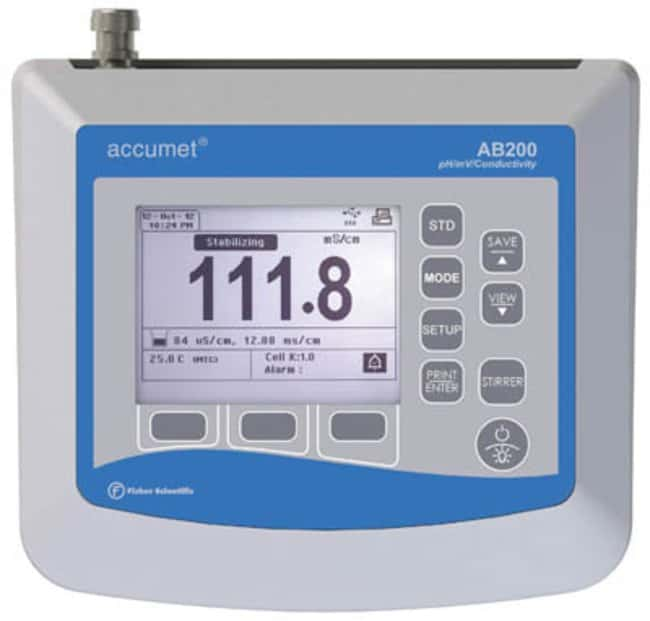 Fisherbrand™accumet™ AB200 pH/Conductivity Benchtop Meters,  Fisherbrand™accumet™ AB200 pH/Conductivity Benchtop Meters,