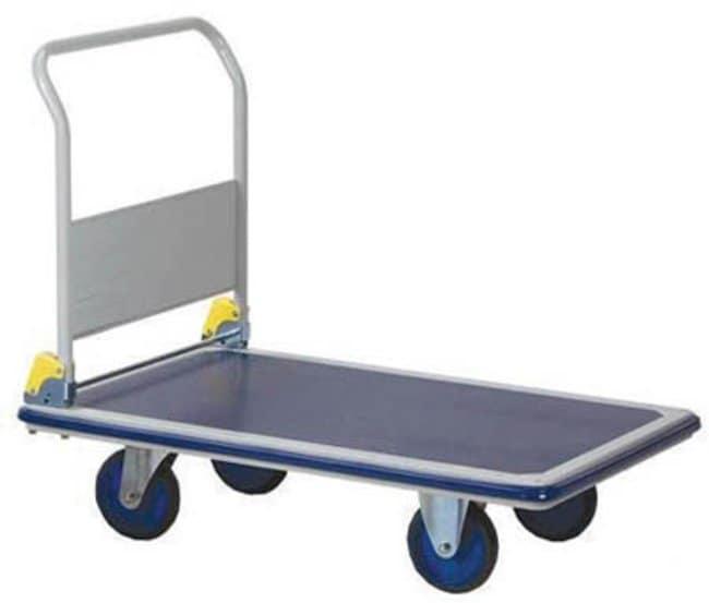 ManutanPlatform trolley, steel, foldable, 150kg capacity  General Purpose Dollies and Trucks