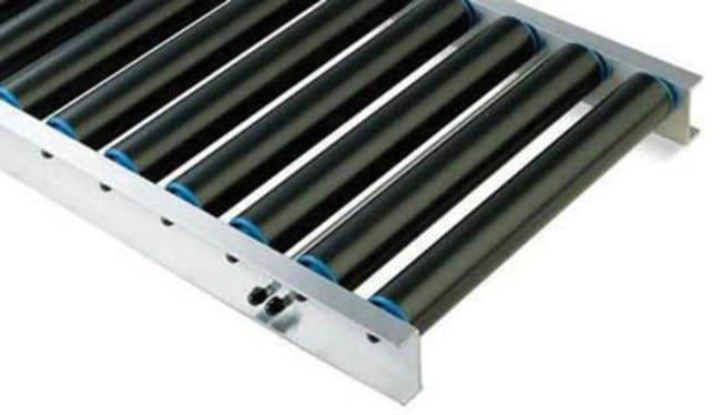 Key Industrial Equipment™Medium duty alloy track, 50 roller bearings, P60, 600mm width  Drum Dollies and Trucks