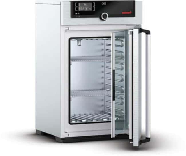 Memmert™Natural Convection Standard Incubator with Single Display and Touchscreen, 74 L, Stainless Steel Capacity: 74L; 6 Grids Standard Incubators
