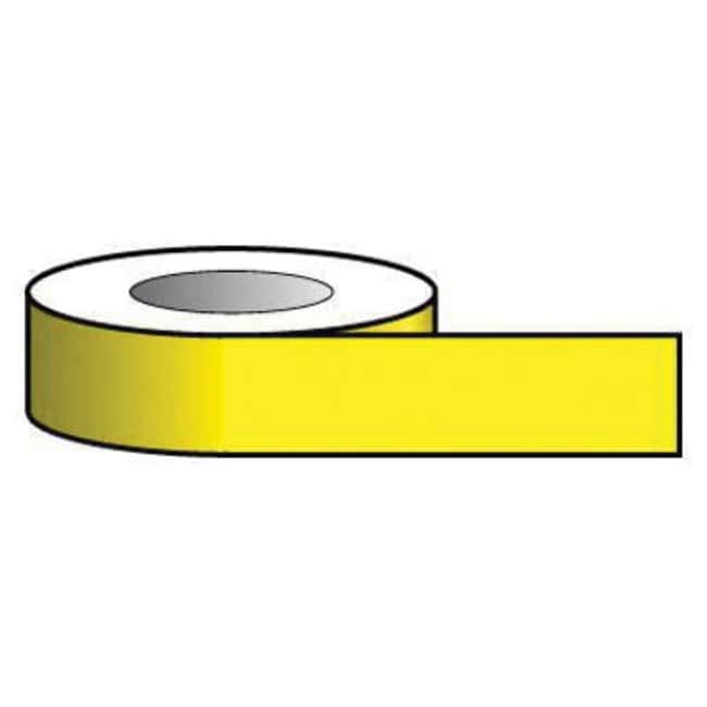 Key Industrial Equipment™ Floor marking tape, yellow, 33m x 75mm