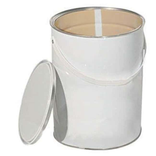 Key Industrial Equipment™Can, 2.50L open top metal lacquered interior with lid  Metal Drums and Cans