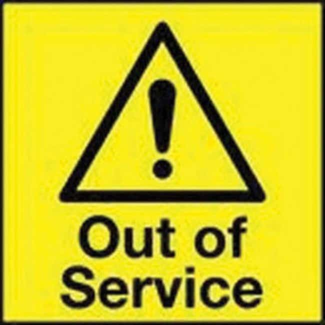 ManutanOut of service A board sign, 590mm x 290mm  Safety Awareness Signs
