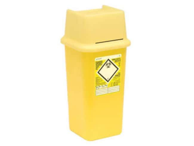 Sharpsafe™ Polypropylene Medicinal Sharps Container: Sharps Destruction Equipment Hazardous Materials Storage and Disposal