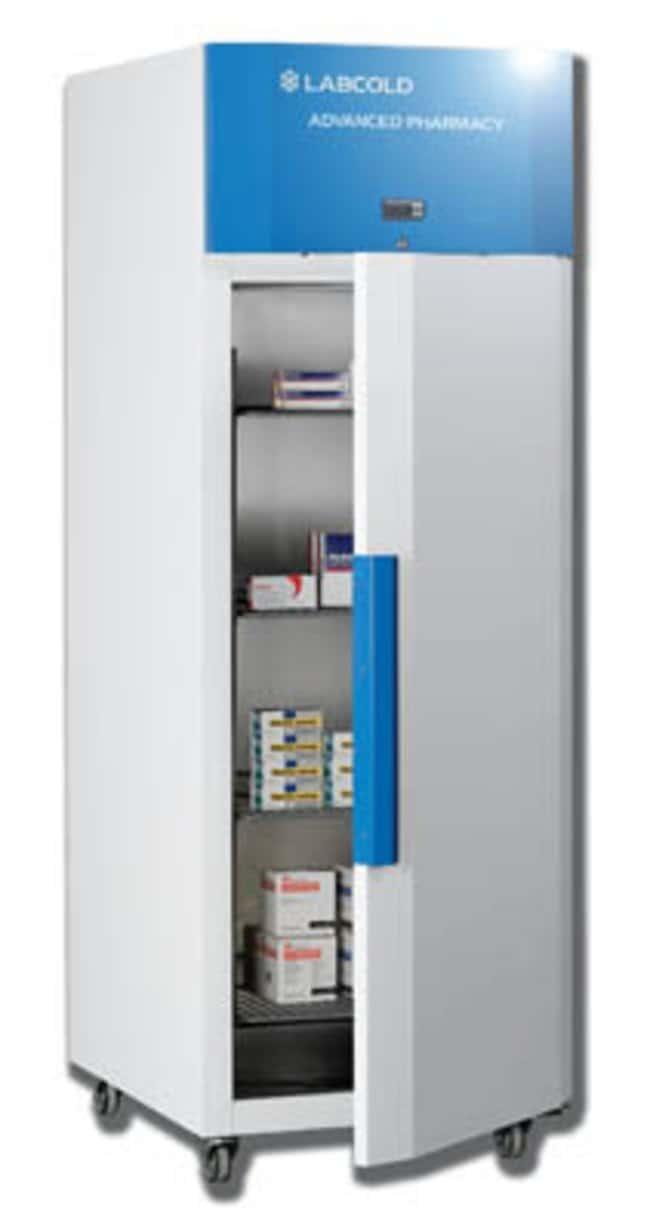Labcold™Powder Coated Steel Pharmacy Refrigerators Exterior Dimensions (H x W x D): 1980 x 720 x 820mm Labcold™Powder Coated Steel Pharmacy Refrigerators